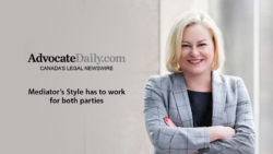 """Kelly D. Jordan featured on Advocate Daily: """"Mediator's style has to work for both parties"""""""